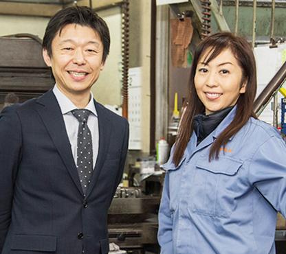 ダイヤ精機株式会社 代表取締役 諏訪貴子氏